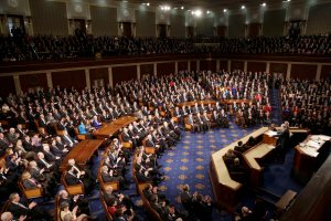 Israeli Prime Minister Netanyahu addresses a joint meeting of Congress on Capitol Hill in Washington
